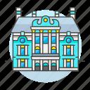 architecture, building, catherine, landmarks, national, palace, pushkin, russia, symbol icon