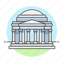 architecture, d, jefferson, landmarks, memorial, national, symbol, usa, washington icon