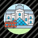 architecture, france, landmarks, louvre, monument, museum, national, paris, structure, symbol icon