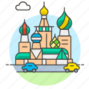 architecture, basil, cathedral, landmarks, moscow, national, russia, saint, symbol icon