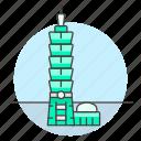 architecture, building, landmarks, national, skyscraper, symbol, taipei, taiwan icon