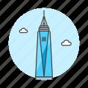 center, landmarks, manhattan, national, new, skyscraper, symbol, trade, world, york