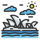 architectonic, australia, house, landmark, opera, sydney