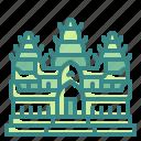 angkor, architectonic, asia, cambodia, landmark, monuments, wat