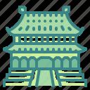 architectonic, asia, building, china, city, forbidden, landmark