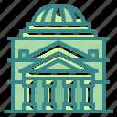 architectonic, buliding, italy, landmark, monuments, pantheon, rome