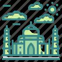 agra, architectonic, india, landmark, mahal, monuments, taj