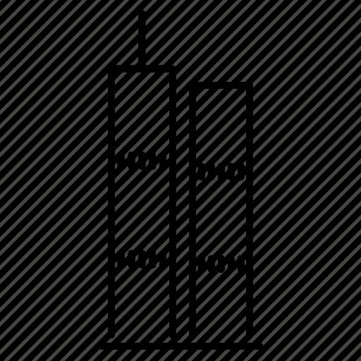 building, new york, office, skyscraper, usa, world trade center icon