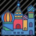 cathedral, of, saint, basil
