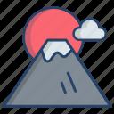 fuji, mountain