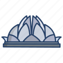 lotus, temple