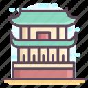 beijing landmark, beijing monument, forbidden city, palace museum, supreme harmony icon