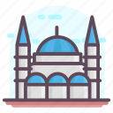 blue mosque, historic mosque, istanbul mosque, sultan ahmed mosque, turkish landmark icon