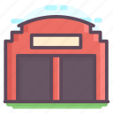 cottage, home, house, hut, residential building icon