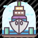 boatyard, dockyard, ship repair, shipbuilding, shipyard icon