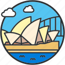 australia, house, landmark, opera, sight, sydney, tourism icon