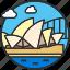 australia, house, landmark, opera, sight, sydney, tourism icon