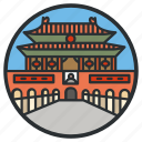 beijing, china, city, forbidden, landmark, square, tiananmen icon