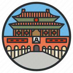 beijing, china, city, forbidden, landmark, square, tiananmen icon