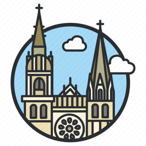 building, cathedral, catholic, church, dame, notre, religious icon