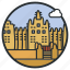 adobe, banco, building, djenne, great, mali, mosque icon
