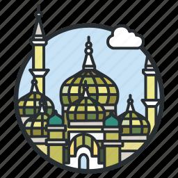 building, crystal, islam, malaysia, masjid, mosque, muslim icon
