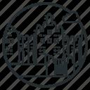 adobe, banco, building, djenne, great, mali, mosque icon