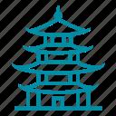 china, chinese, japan, pagoda, travel
