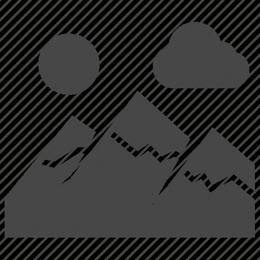 Hills, landscape, mountain icon - Download on Iconfinder