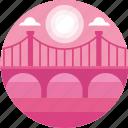 bridge, san francisco, america, landmark, engineering, united states