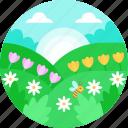 spring, springtime, summer, floral, blooming, bloom, season