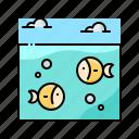 fish, landscape, ocean, sea, underwater icon