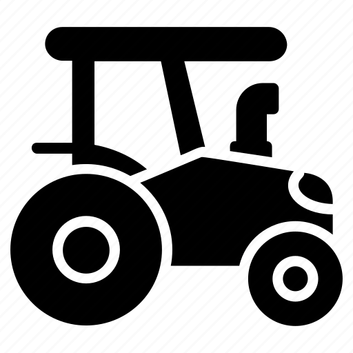 agriculture vehicle, farmer vehicle, farming vehicle, retro tractor, tractor icon