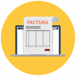 document, factura, facturas, invoice, invoices, pagado, pago icon