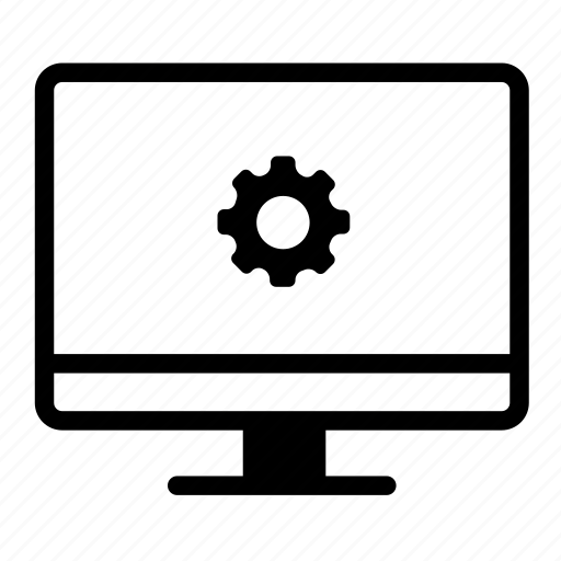 computer, computer monitor, computersettings, configuration, desktop, monitor, monitor settings icon