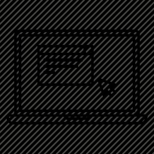 click, cursor, desctop, laptop, window icon