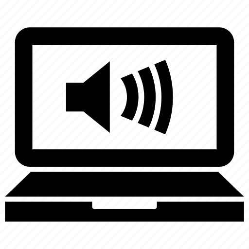audio, computer, laptop, loud, macbook, sound, volume icon