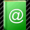 contacts, pocketbook, notebook, mass list, mail list, address book, record