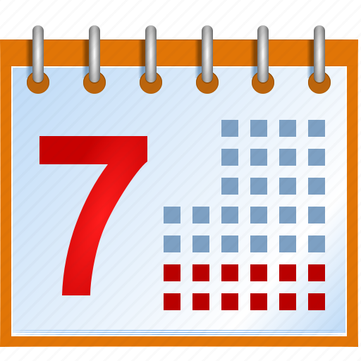 almanac, calendar, date, datetime, day, event, menology, month, week, year icon