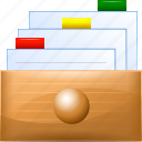 box, card, data, database, documents, file, storage icon