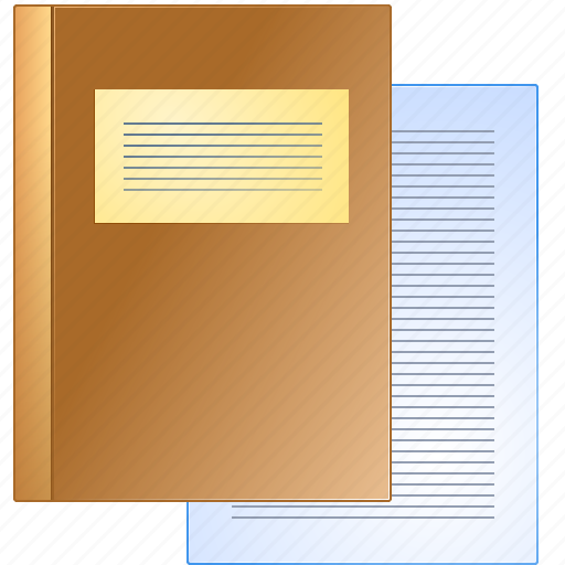 book, books, case, deed, document, history, instrument, paper, record, writing icon