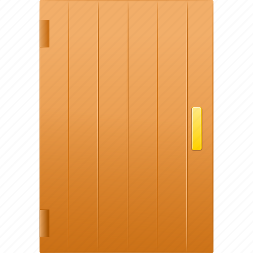 admission, aperture of a door, close, closed, covered, door, doorway, enclosed, entrance, entry, exit, hooded, inlet, locked, login, pent, shut, under lock and key icon