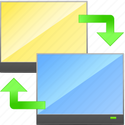 backup, computer, data, exchange, restore, sync, synchronization icon