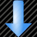down, download, arrow, minimize, direction, move, decrease