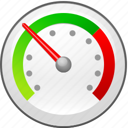 alarm, clock, dashboard, gauge, measure, meter, ruler, speed, timer, units, value, watch icon