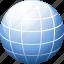 blue, earth, global, globe, internet, peace, planet, sphere, web, world icon