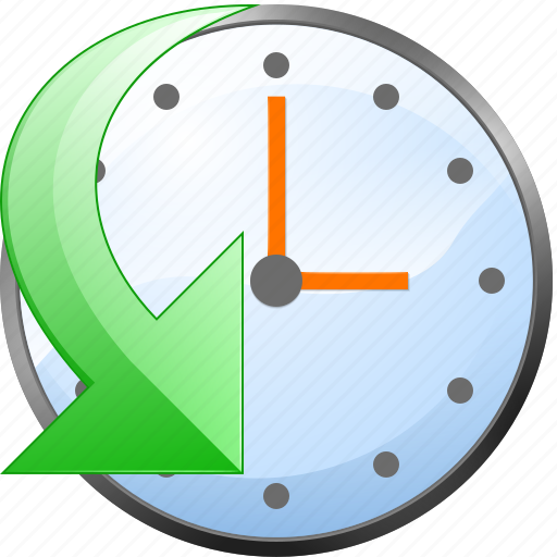 anticlockwise, clear, clock, contraclockwise, counterclockwise, history, time, url icon