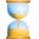 loading, hourglass, wait, time, glass, sandglass