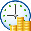 benefit, earnings, gain, income, money, proceeds, profit, return, revenue, takings, time is money, wage, wages, yield icon