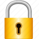 bar, be frozen up, become reserved, close, fasten, keyhole, latch, lock, lock up, password, secure, security, shut icon